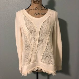 Anthropology Angel of the North Sweater, size Med